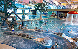 The Cube Hotel gives free Revelstoke Aquatic Centre passes to our guests.