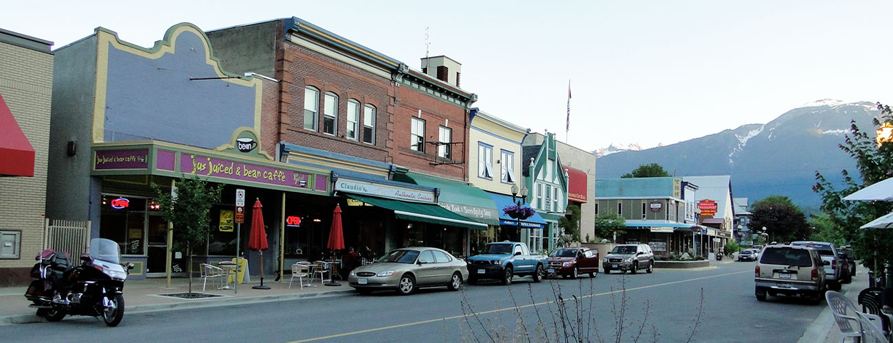 The Cube Hotel is just moments away from Revelstoke's downtown area